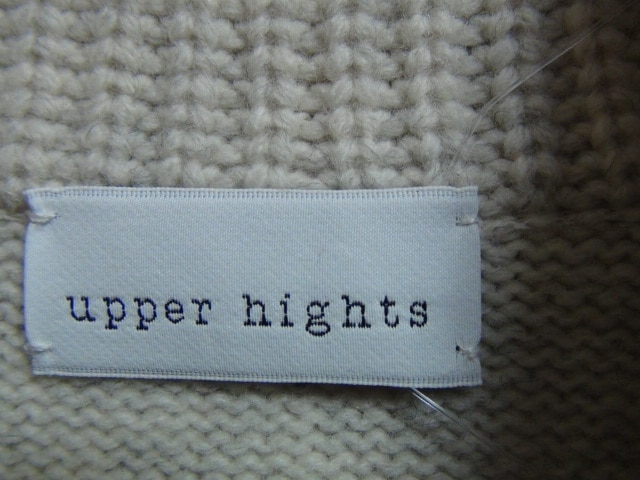 upper hights(アッパーハイツ)のカーディガン