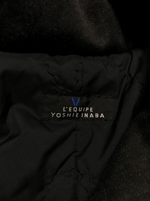 L'EQUIPE YOSHIE INABA(レキップ ヨシエイナバ)のダウンコート