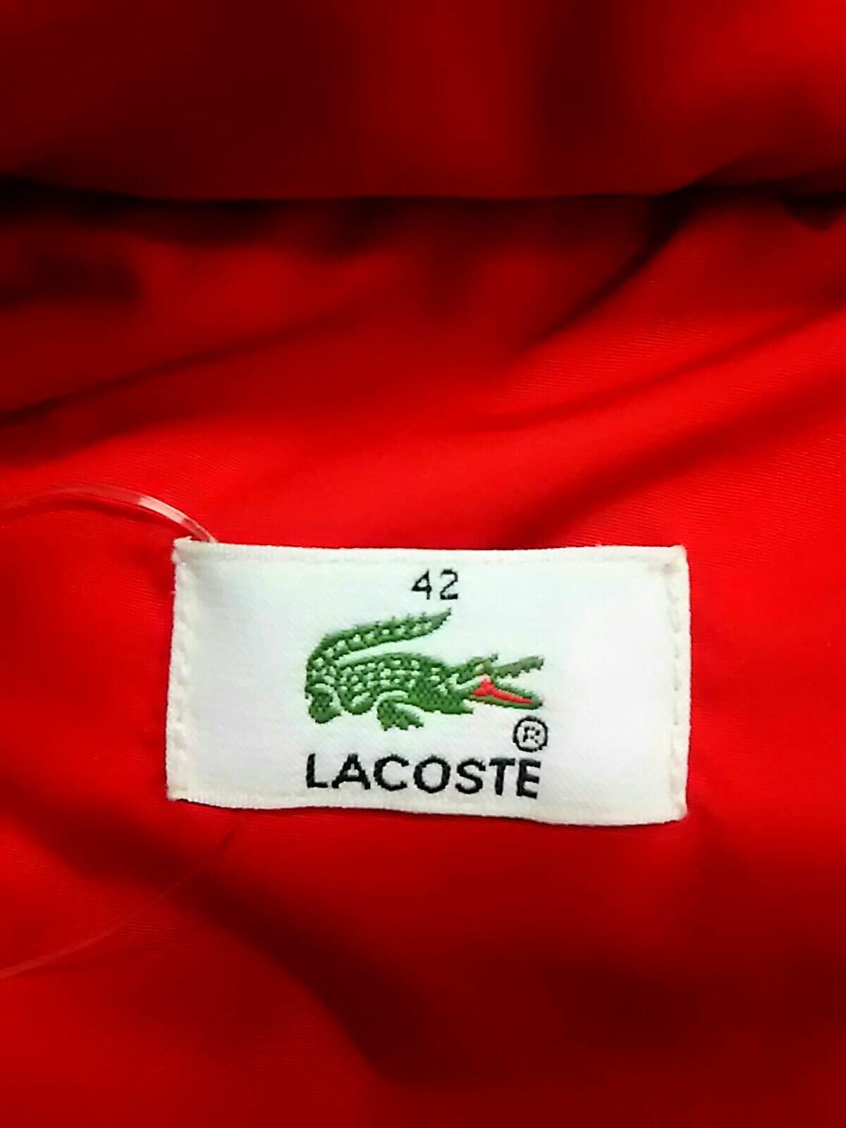 Lacoste(ラコステ)のダウンコート