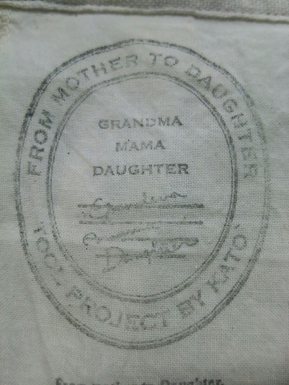 GRANDMAMAMADAUGHTER(グランマママドーター)のワンピース