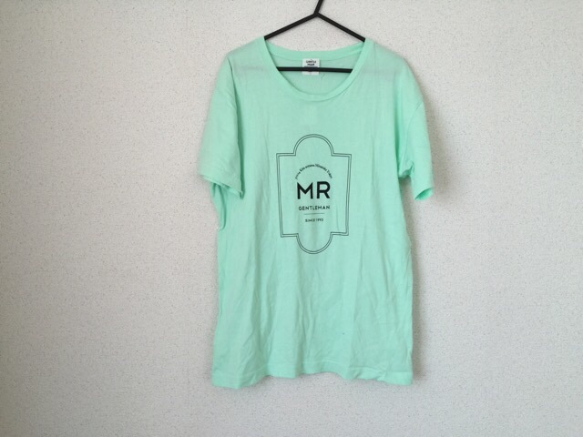 MR.GENTLEMAN(ミスタージェントルマン)のTシャツ