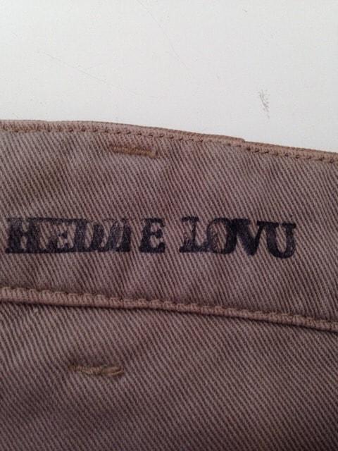 HEDDIE LOVU(エディー ルーヴ)のパンツ