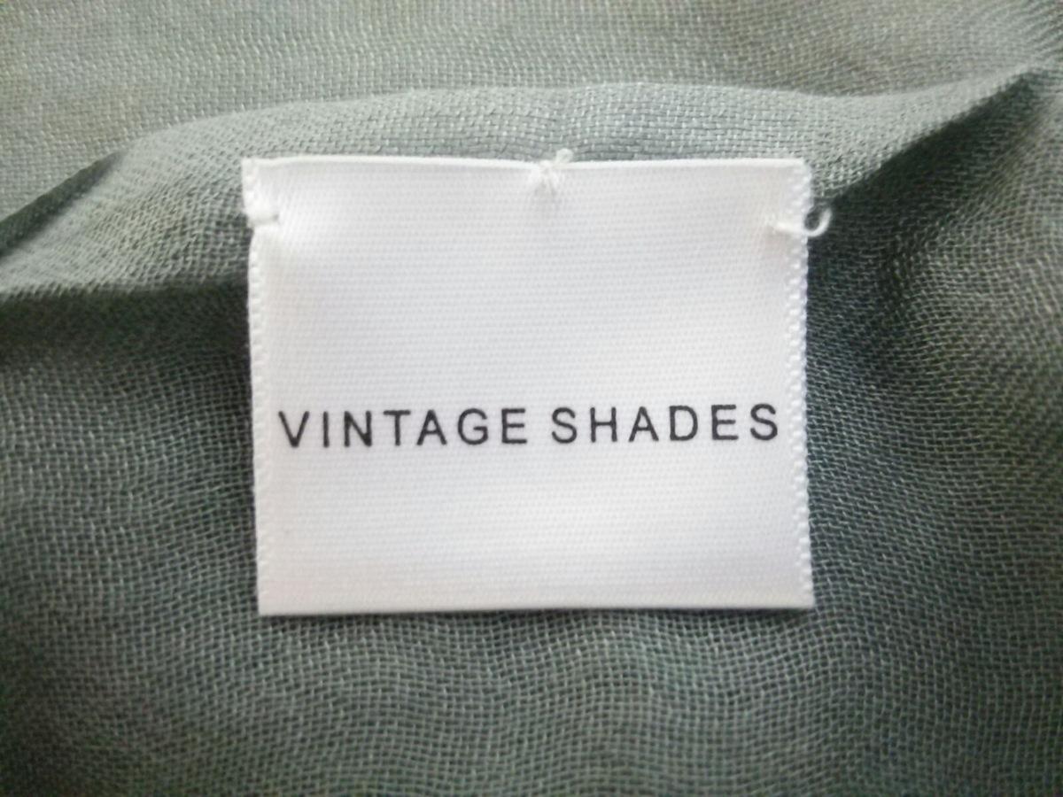 VINTAGE SHADES(ヴィンテージシェイド)のマフラー