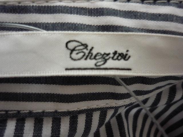 Chez toi(シェトワ)のシャツブラウス