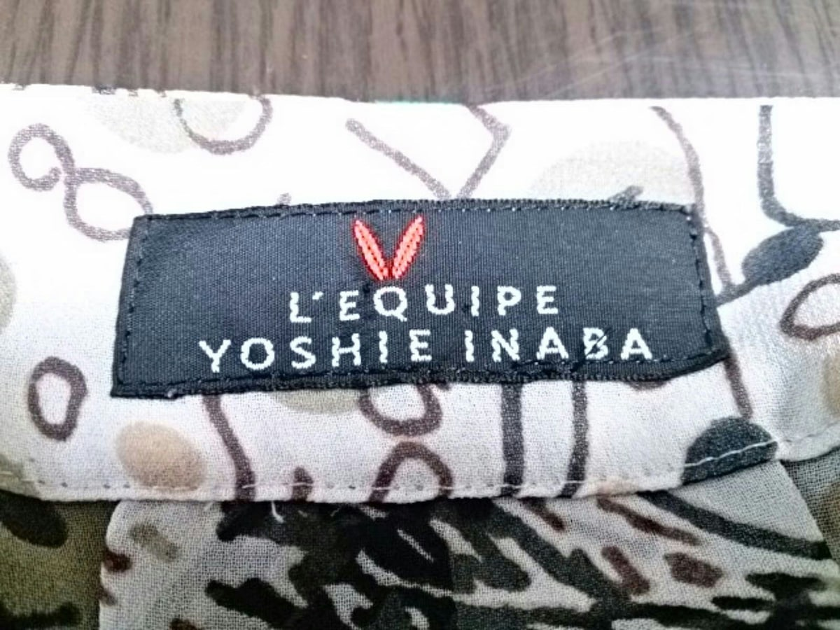L'EQUIPE YOSHIE INABA(レキップ ヨシエイナバ)のチュニック