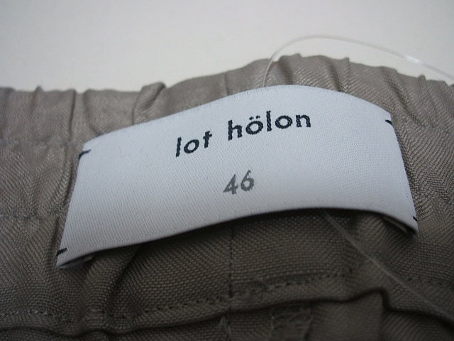 lot holon(ロットホロン)のパンツ
