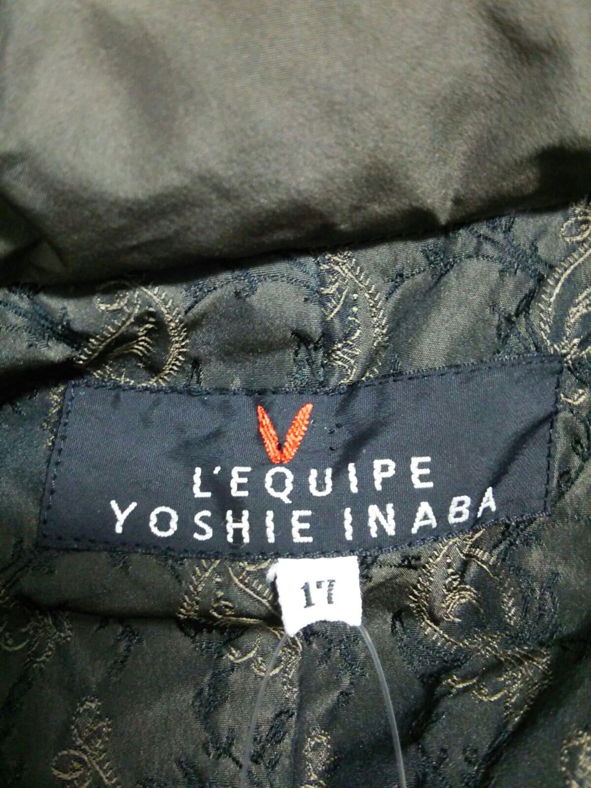 L'EQUIPEYOSHIEINABA(レキップ ヨシエイナバ)のダウンジャケット