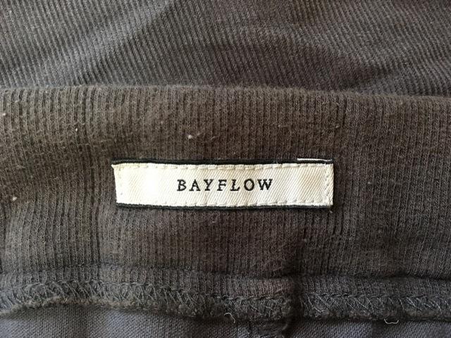 BAYFLOW(ベイフロー)のパンツ