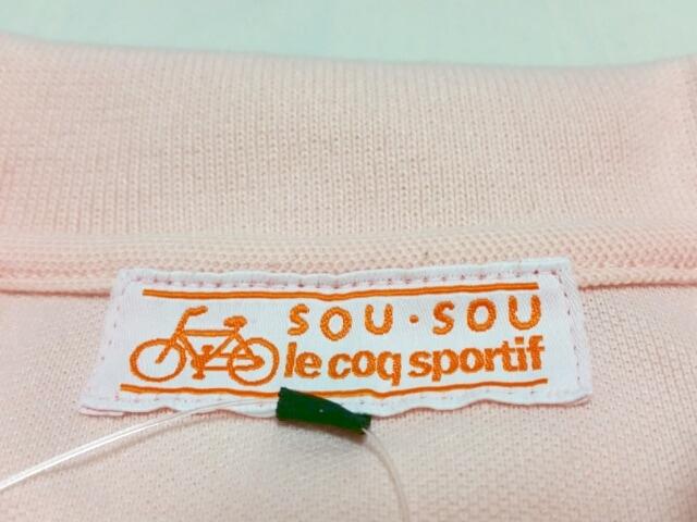 SOU・SOU(ソウソウ)のポロシャツ