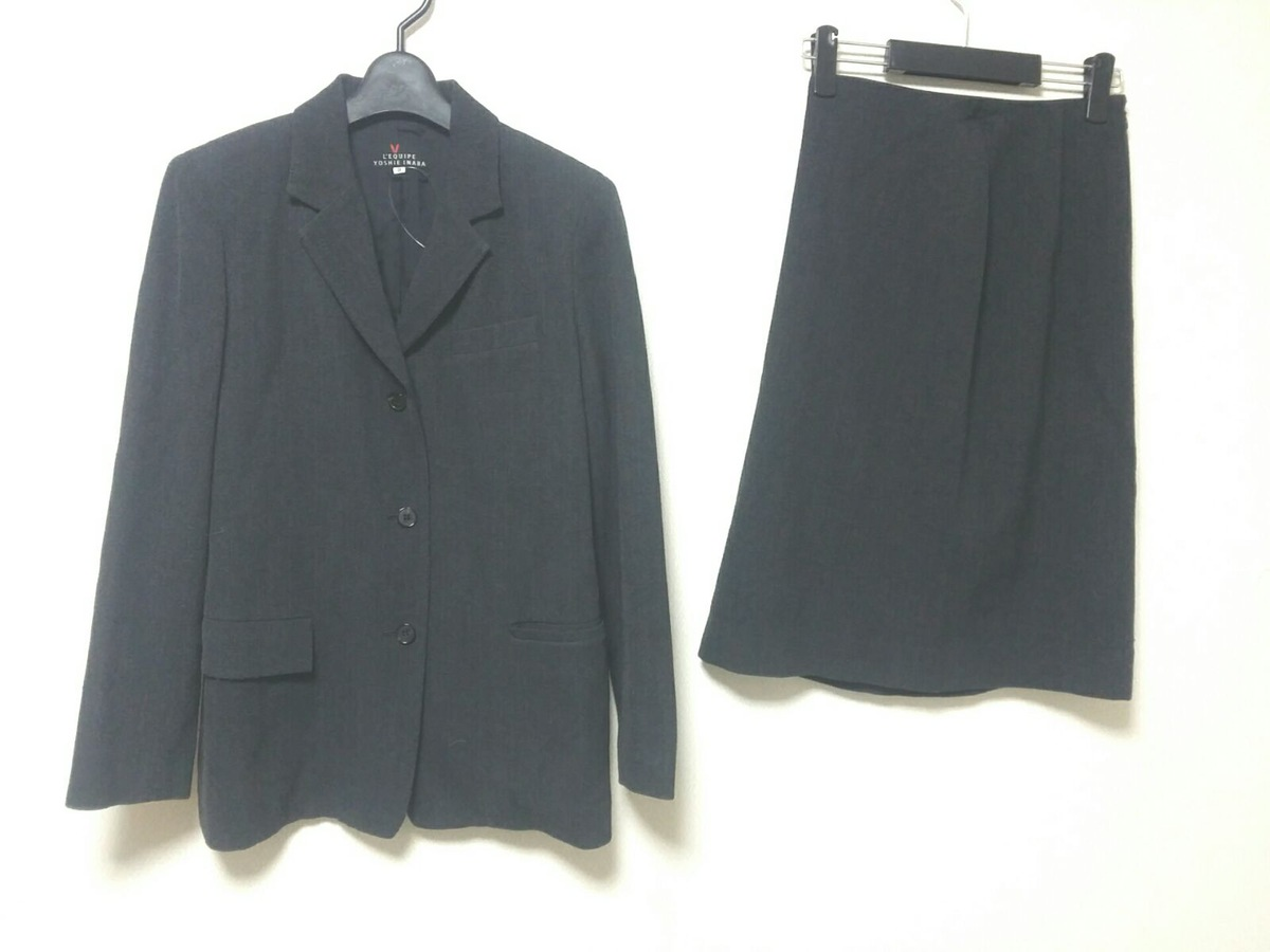 L'EQUIPEYOSHIEINABA(レキップ ヨシエイナバ)のスカートスーツ
