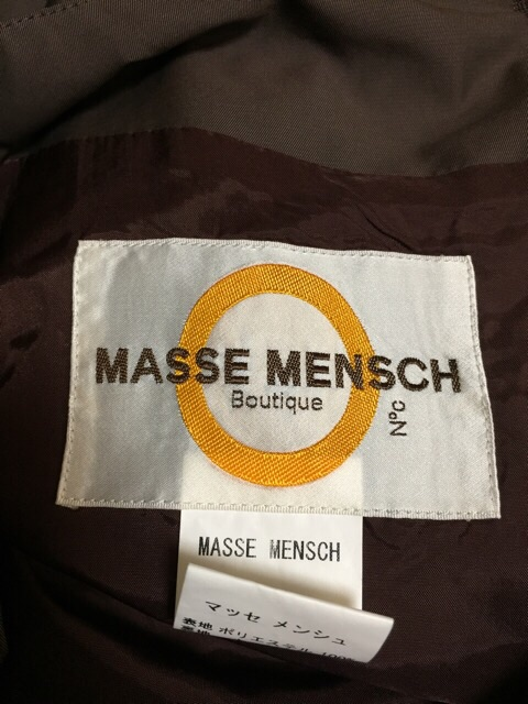 MASSE MENSCH(マッセメンシュ)のスカート