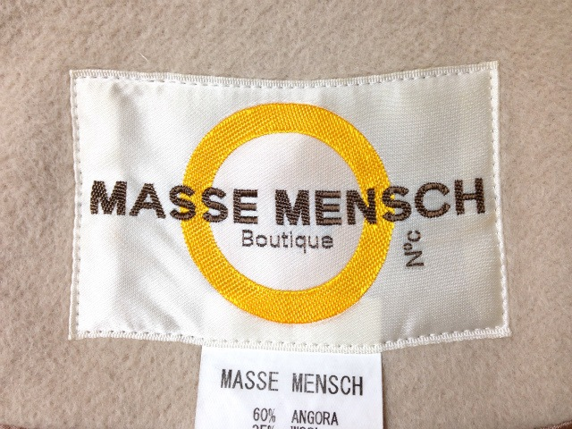 MASSEMENSCH(マッセメンシュ)のコート
