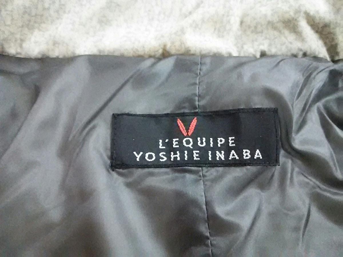L'EQUIPE YOSHIE INABA(レキップ ヨシエイナバ)のダウンベスト
