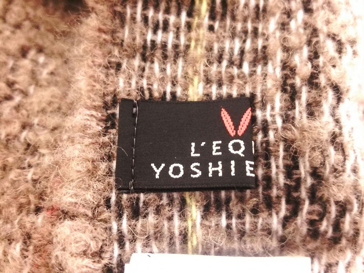 L'EQUIPE YOSHIE INABA(レキップ ヨシエイナバ)のマフラー