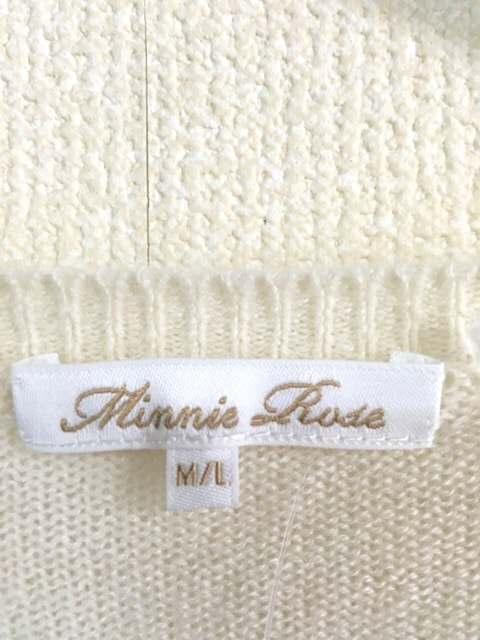 Minnie Rose(ミニーローズ)のセーター