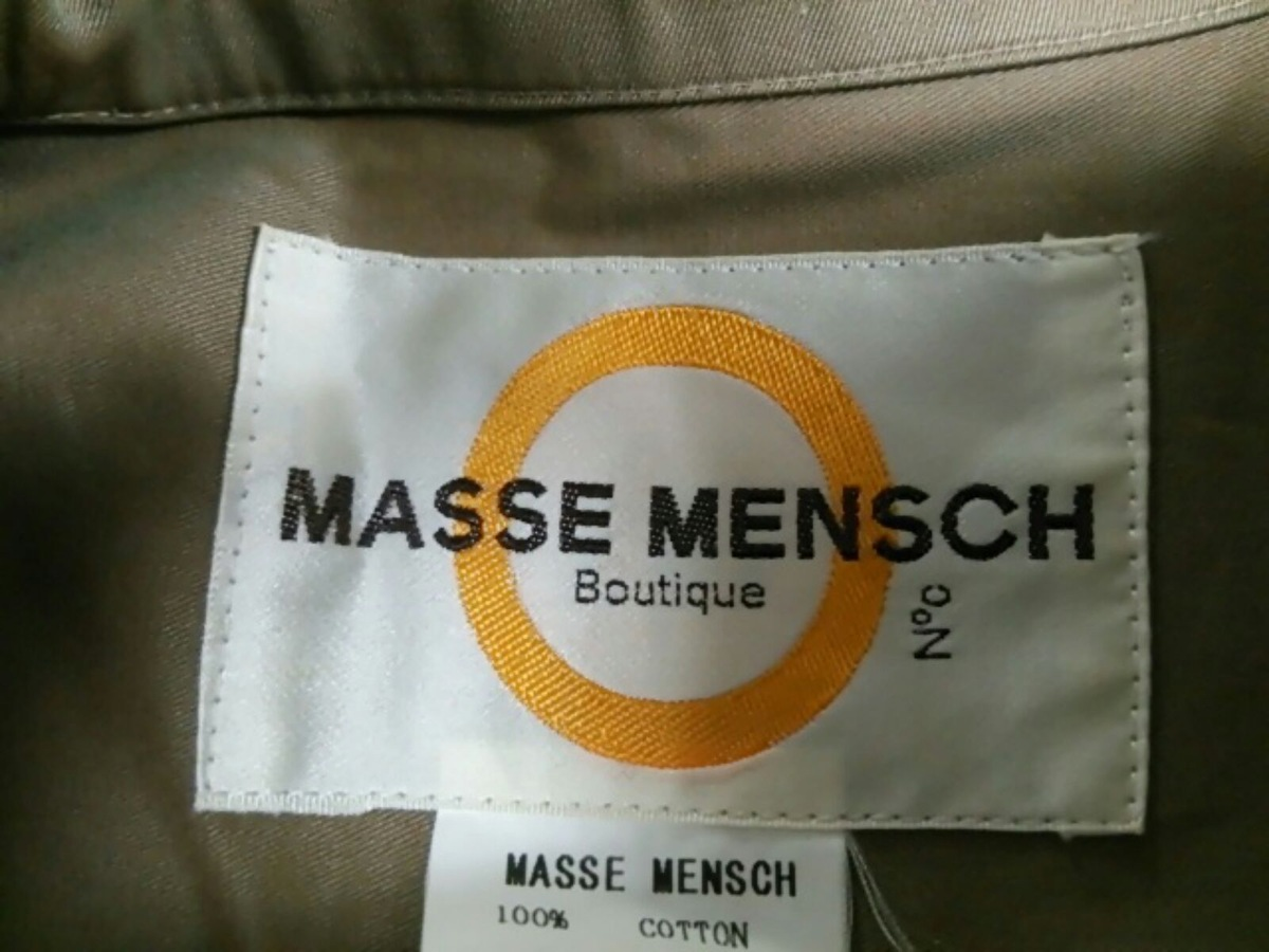 MASSE MENSCH(マッセメンシュ)のブルゾン