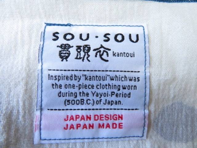SOU・SOU(ソウソウ)のワンピース
