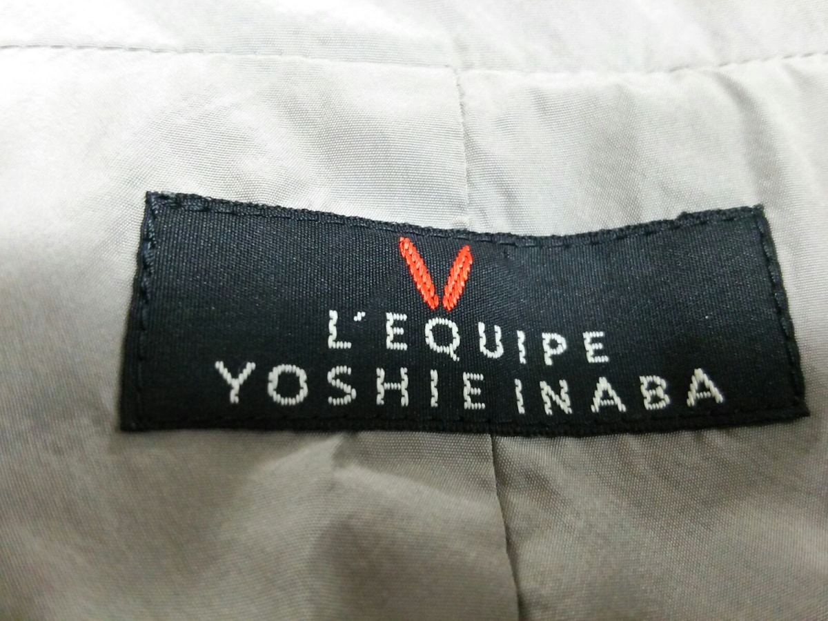 L'EQUIPE YOSHIE INABA(レキップ ヨシエイナバ)のダウンジャケット