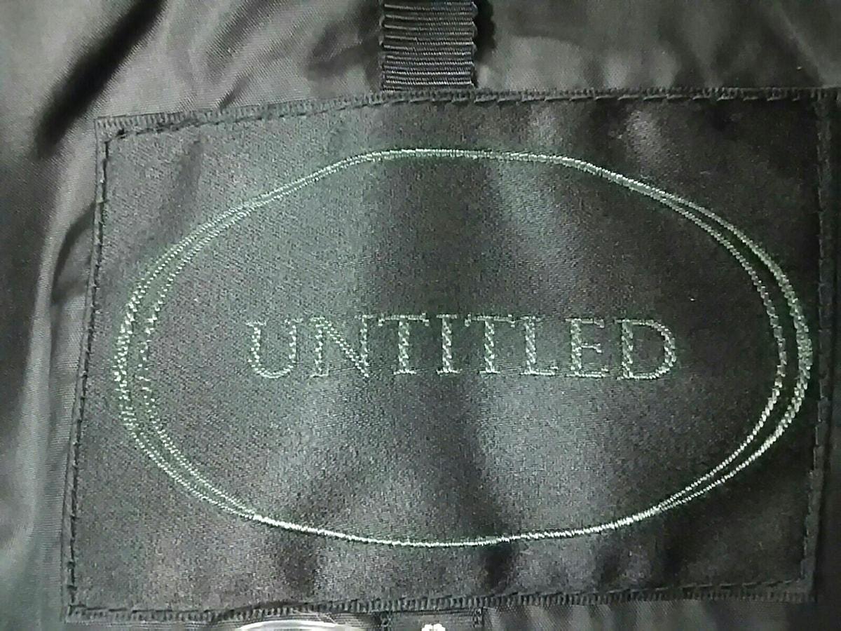 UNTITLED(アンタイトル)のダウンコート