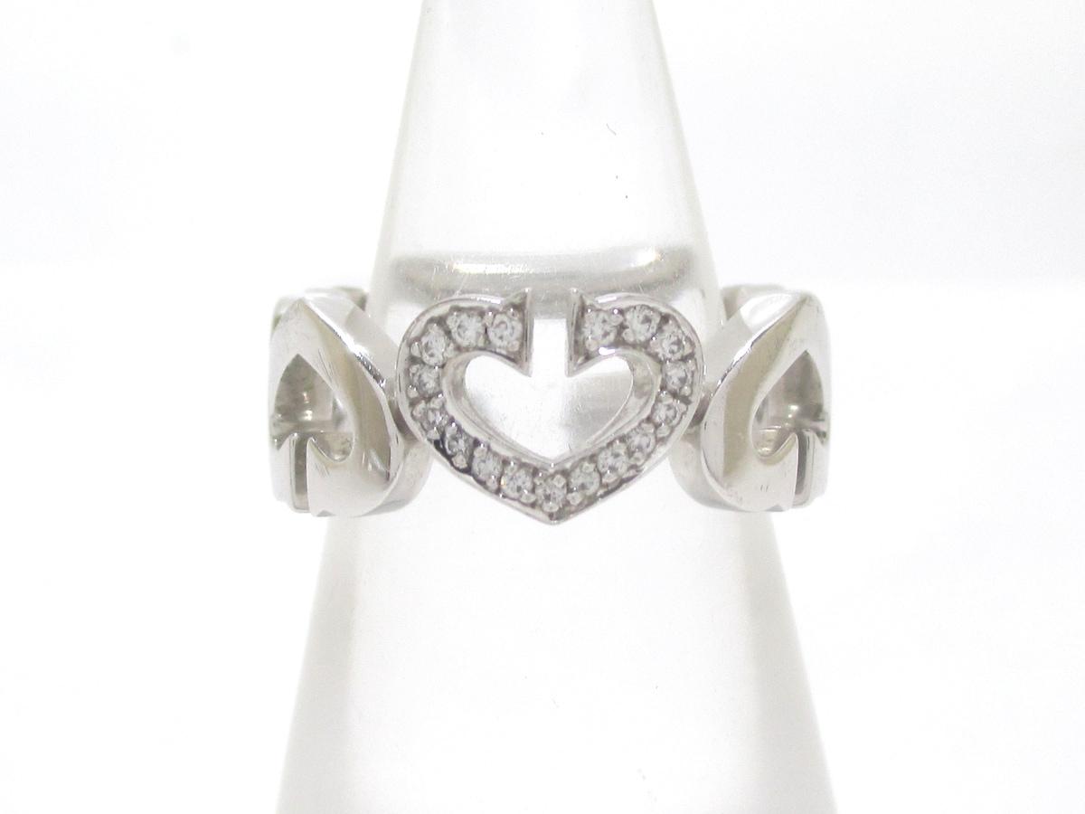 Cartier(カルティエ)のCハートダイヤ