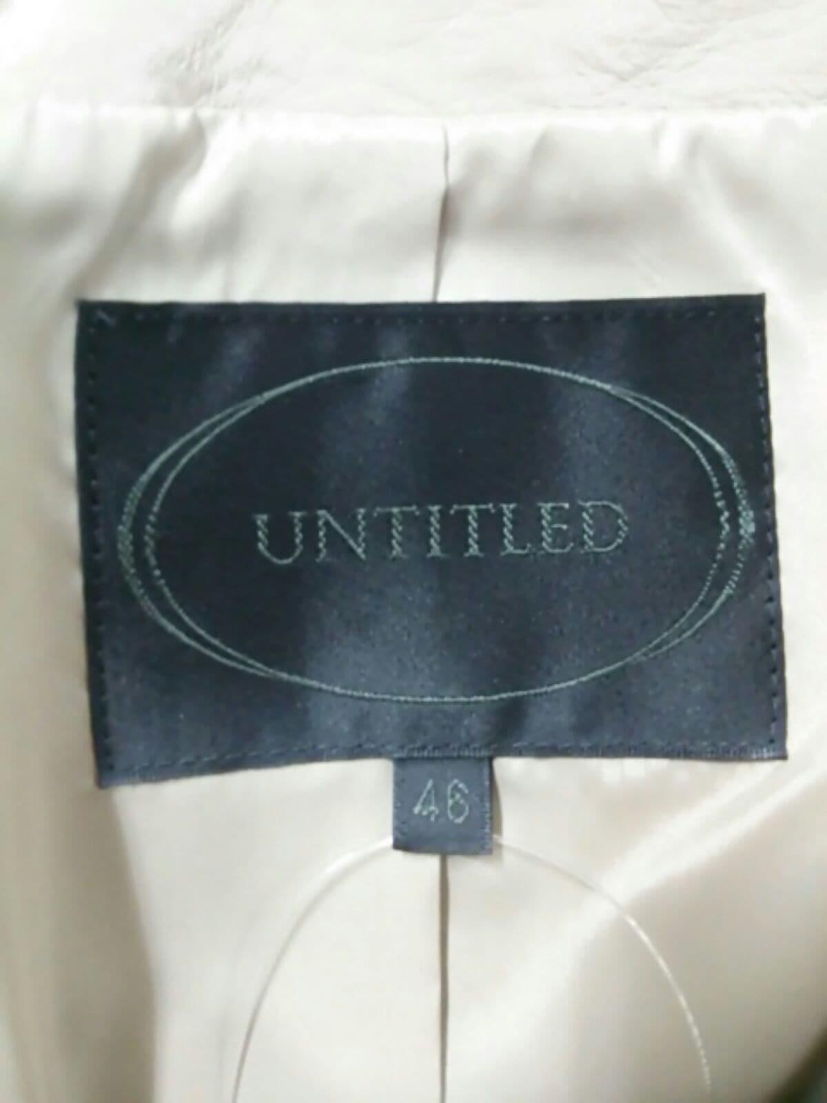 UNTITLED(アンタイトル)のブルゾン