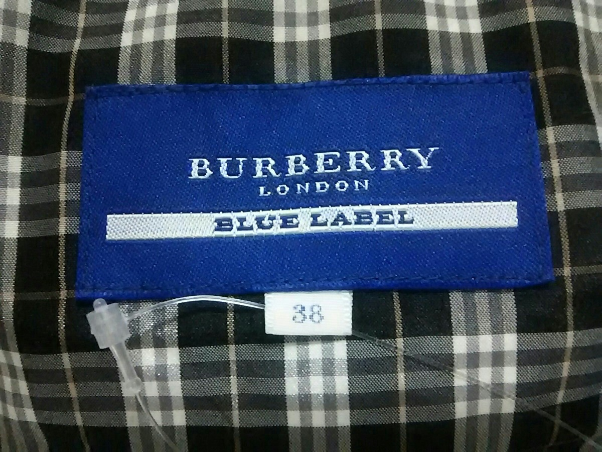 Burberry Blue Label(バーバリーブルーレーベル)のダウンベスト