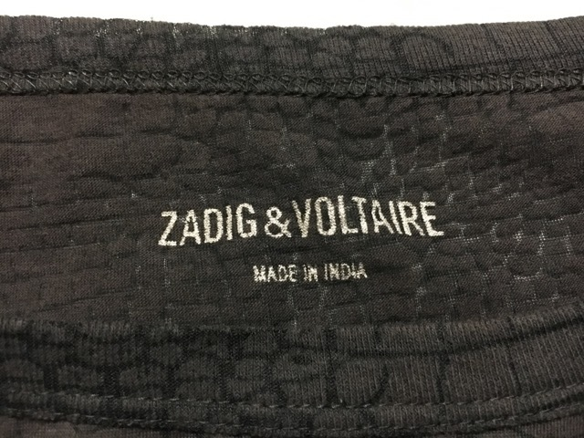 Zadig&Voltaire(ザディグエヴォルテール)のチュニック
