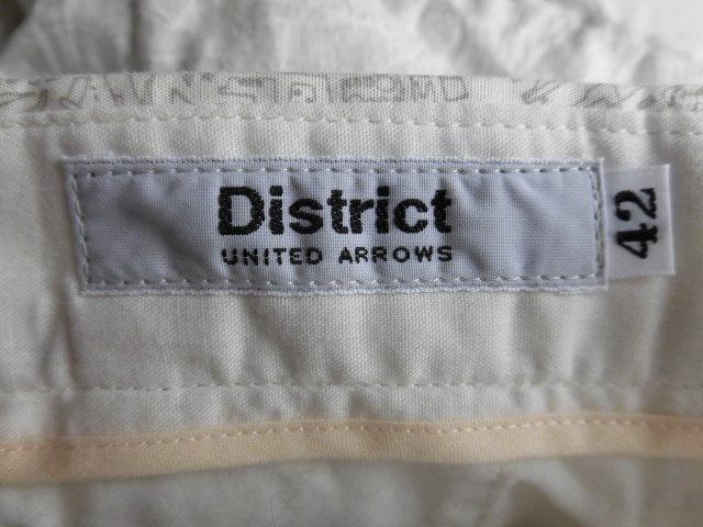 District(ディストリクト)のパンツ