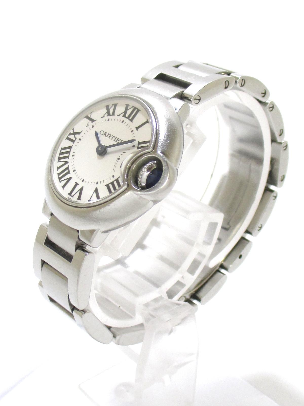 Cartier(カルティエ)のバロンブルーSM