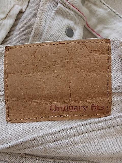 Ordinary fits(オーディナリーフィッツ)のパンツ