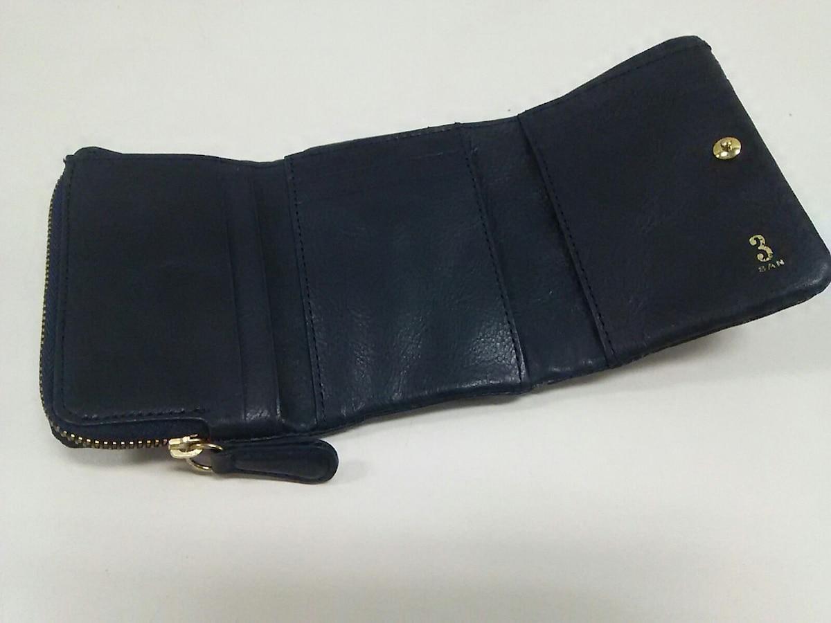 SAN HIDEAKI MIHARA(サンヒデアキミハラ)の3つ折り財布