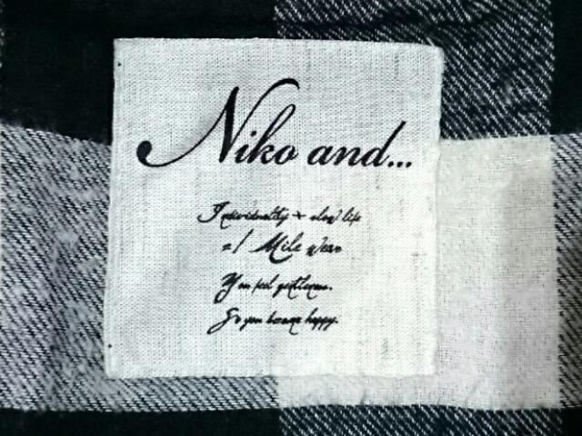 niko and...(ニコアンド)のコート