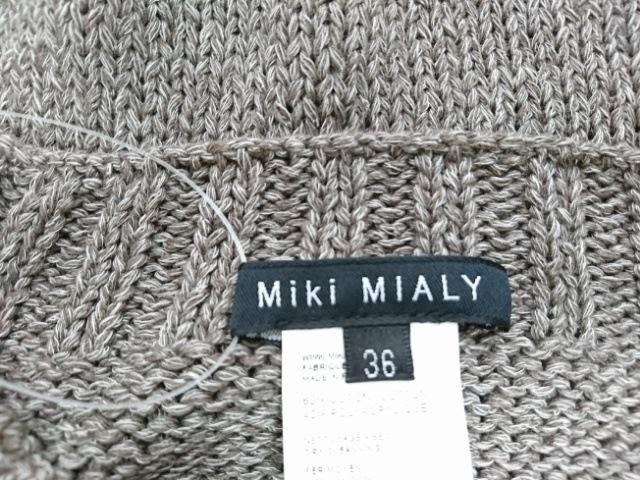 MIKI MIALY(ミキミアリー)のカーディガン