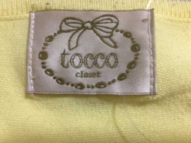 tocco(トッコ)のカーディガン