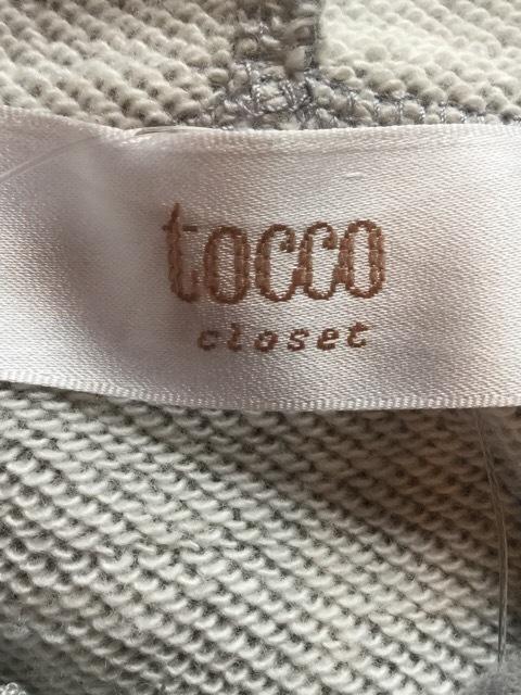 tocco(トッコ)のパーカー