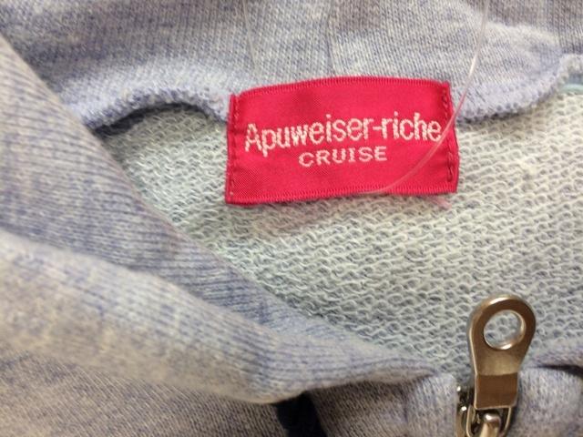 Apuweiser-riche(アプワイザーリッシェ)のパーカー