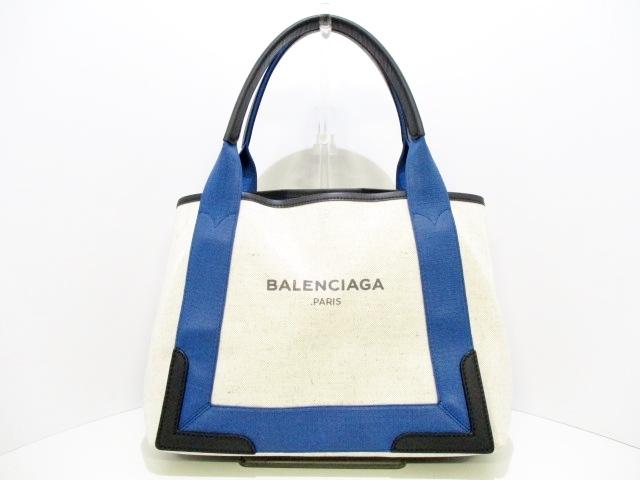 BALENCIAGA(バレンシアガ)のネイビーカバSラバーエフェクト