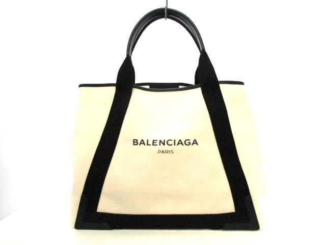 BALENCIAGA(バレンシアガ)のネイビーカバM
