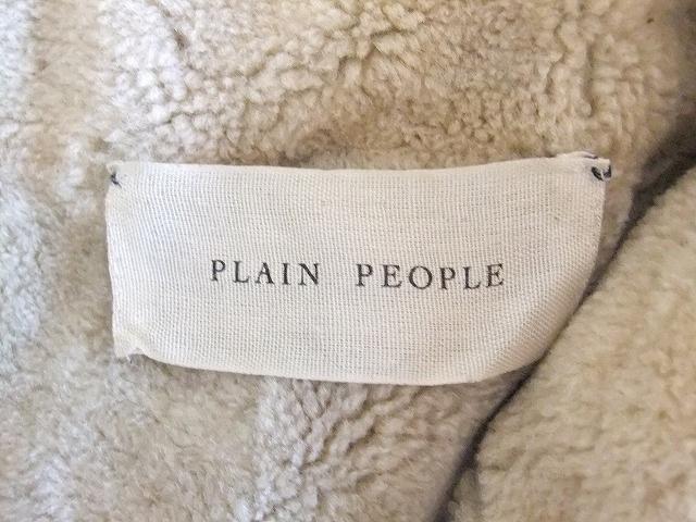 PLAIN PEOPLE(プレインピープル)のブルゾン