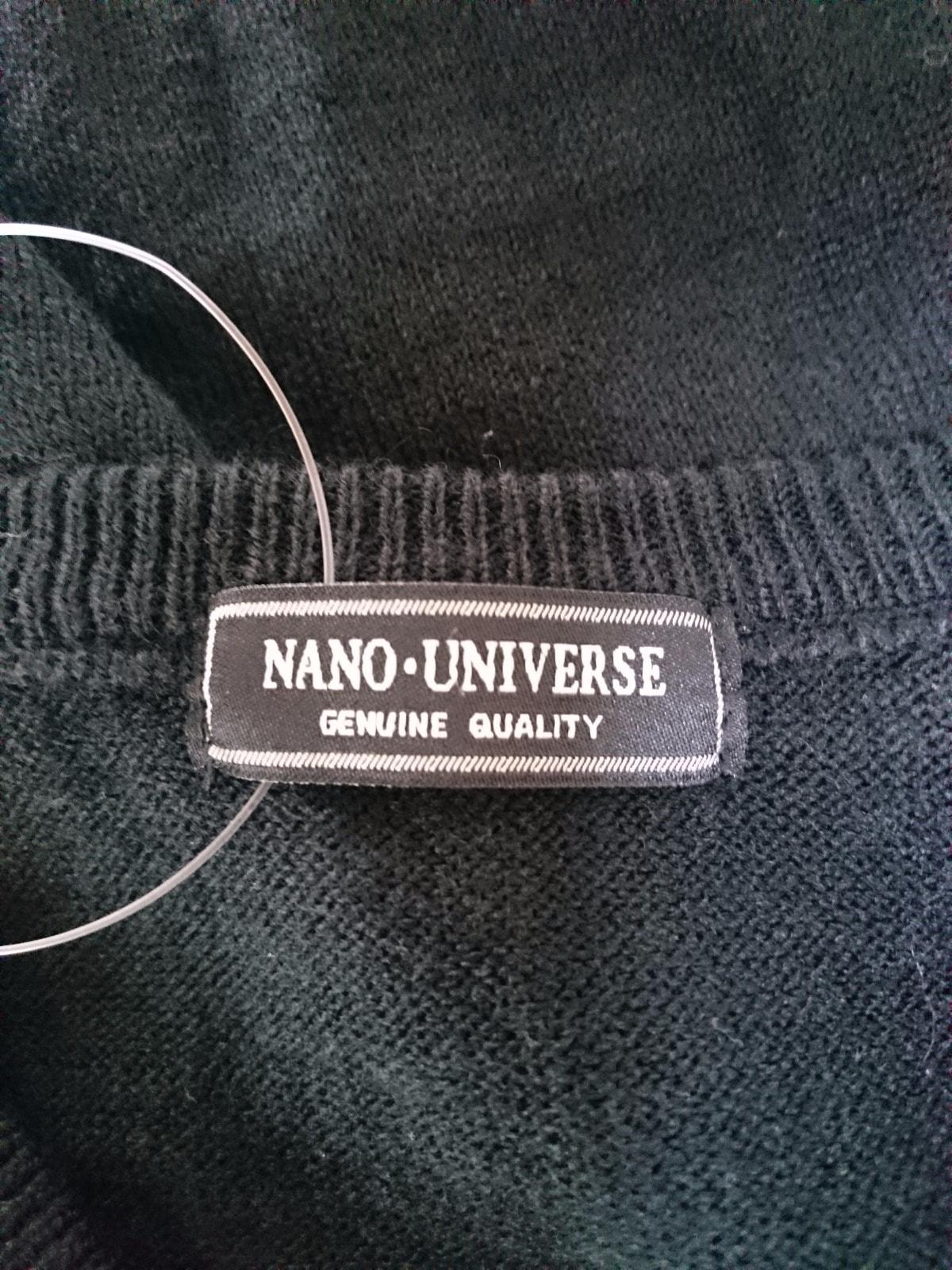 nano universe(ナノユニバース)のセーター