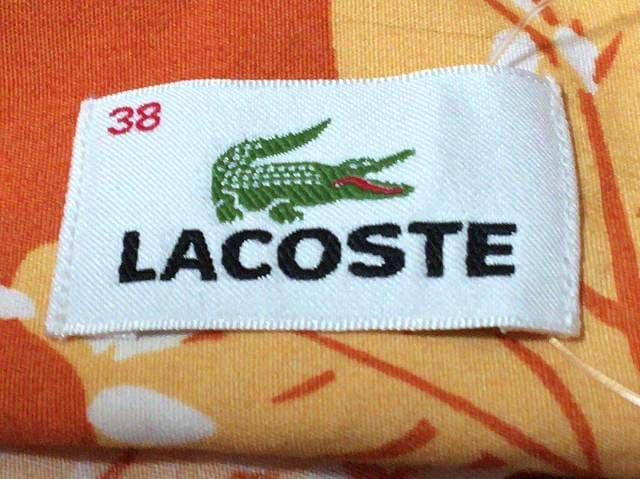 Lacoste(ラコステ)のシャツブラウス
