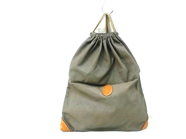 シーピーカンパニー バッグ ダークグレー 巾着袋 PVC(塩化ビニール) 0
