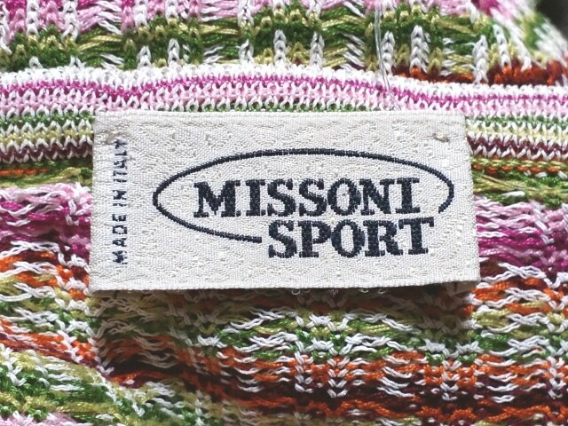 MISSONI SPORT(ミッソーニスポーツ)のカーディガン