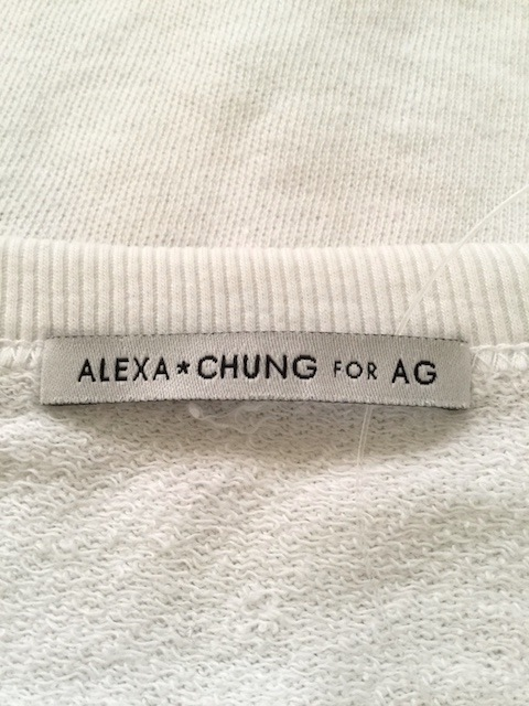 ALEXA CHUNG FOR AG(アレクサチャンフォーエージー)のトレーナー