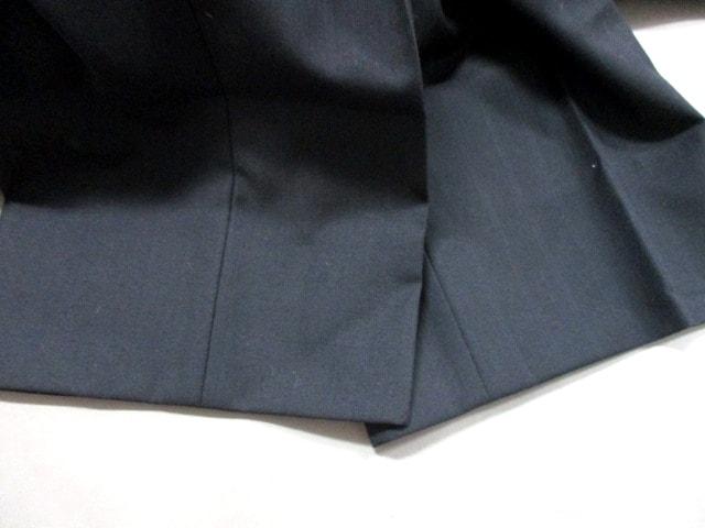 LOUIS VUITTON ストライプ サイズ46 黒 L シングルスーツ (ルイヴィトン) 【中古】 メンズ美品■