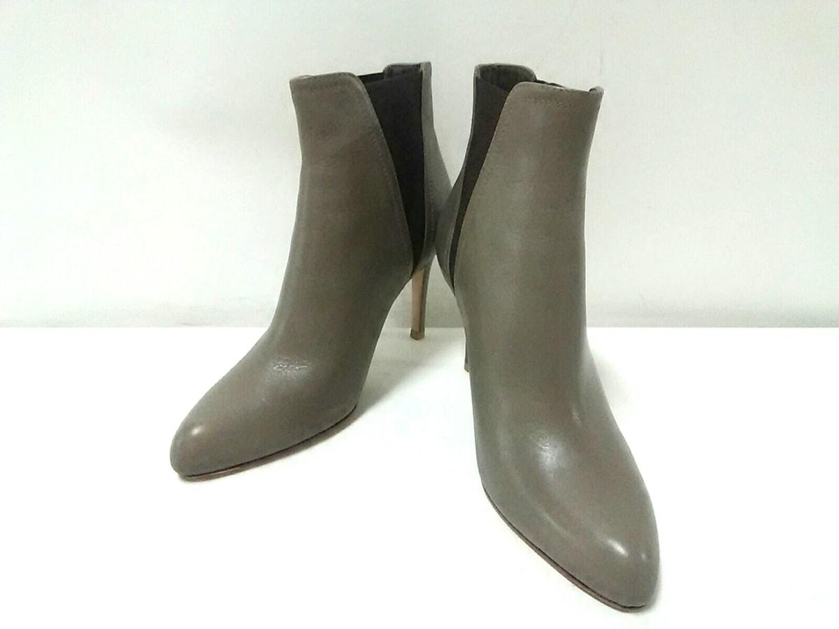 ブーツ グレー____