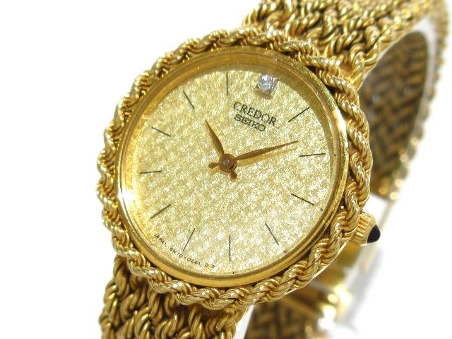 4N70-0251_腕時計 K18YG___