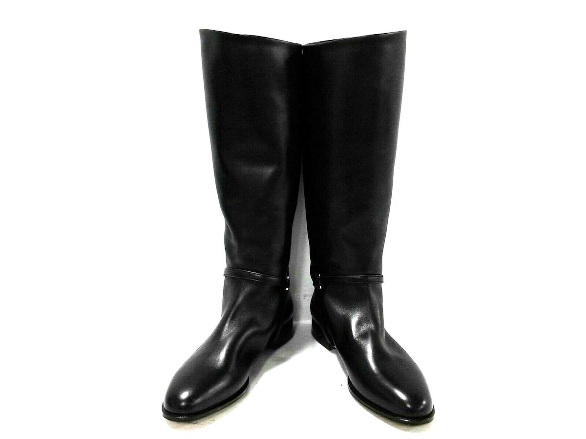 ブーツ 黒____