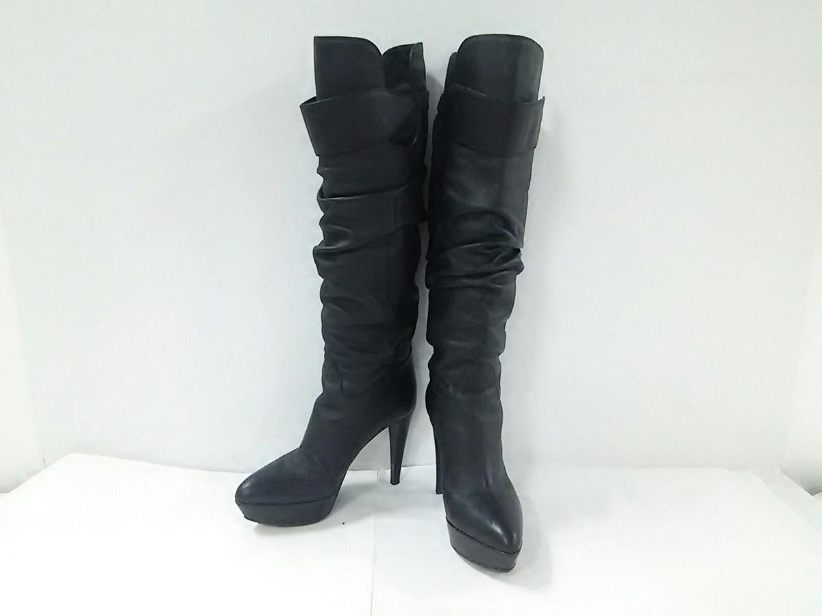 sergio rossi(セルジオロッシ)のブーツ 黒