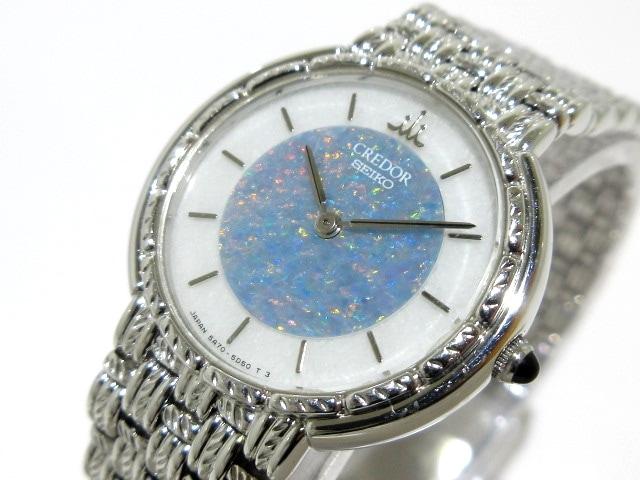5A70-2B30_腕時計 白×ライトブルー___